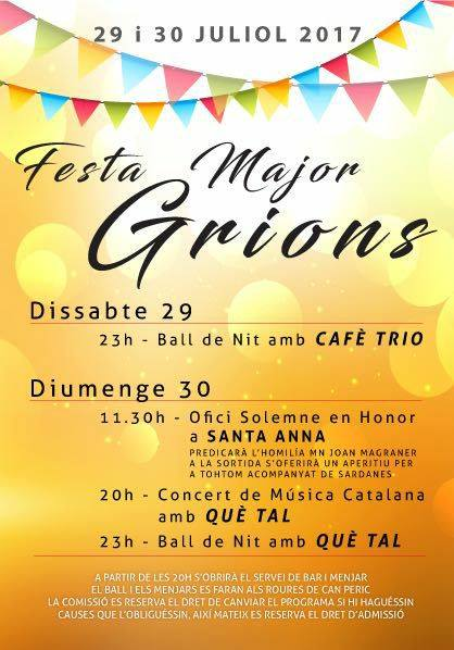 Programa Grions 2017