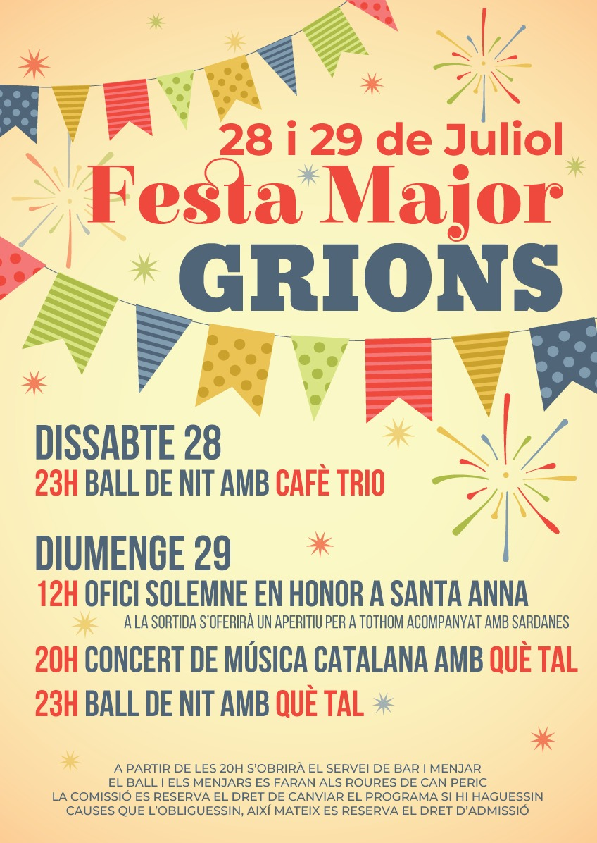 Programa Grions 2018